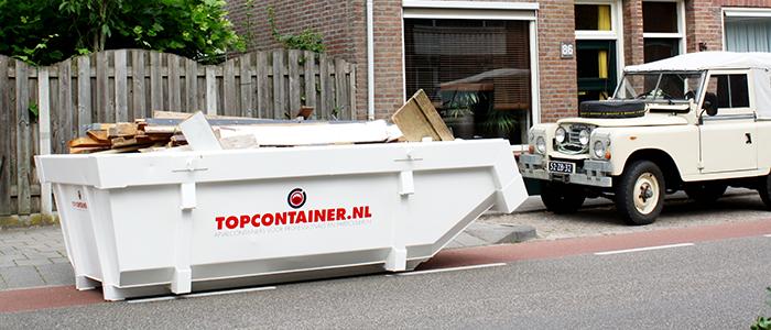 Bij Topcontainer.nl bestelt u snel de juiste container
